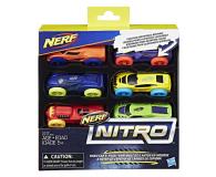 NERF Nitro Foam Car 6pak (C3172)