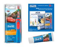 Oral-B D12 Kids Cars + Pasta + Książka (Cars Kids D12 + toothpaste + book C4)