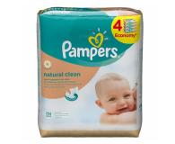 Pampers Chusteczki Nawilzane Natural Clean 4x 64szt (4015400622482 256szt)