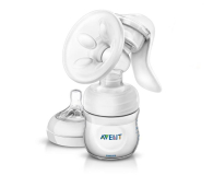 Philips Avent Laktator Ręczny NATURAL +Butelka 125ml (SCF330/20)
