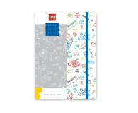 POLTOP LEGO Biały notatnik z niebieskimi dodatkami (51842)