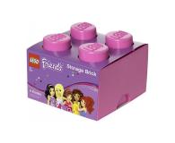 POLTOP LEGO Friends Pojemnik Brick 4 różowy (40031744)