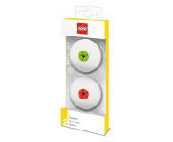 POLTOP LEGO Gumki do mazania – czerwona i zielona – 2 szt. (51519)