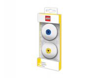 POLTOP LEGO Gumki do mazania – niebieska i żółta 2 szt. (51518)