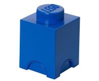 POLTOP LEGO Pojemnik 1 kwadratowy - niebieski (40011731)