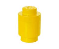 POLTOP LEGO Pojemnik 1 Okrągły - Żółty (40301732)