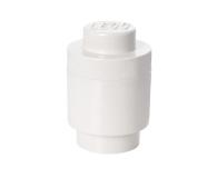 POLTOP LEGO Pojemnik Brick 1 Okrągły - Biały (40301735)