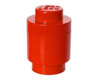POLTOP LEGO Pojemnik Brick 1 okrągły czerwony (40301730)