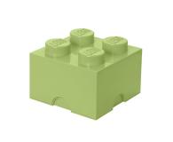 POLTOP LEGO Pojemnik Brick 4 seledynowy (40031748)