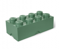 POLTOP LEGO Pojemnik Brick 8 khaki (40041747)