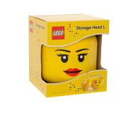 POLTOP LEGO Pojemnik Mała Głowa - Dziewczynka (40311724)