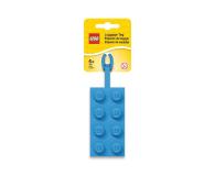 POLTOP LEGO Silikonowa zawieszka klocek - niebieska (52001)
