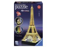 Puzzle do 500 elementów Ravensburger 3D Wieża Eiffla nocą 125791