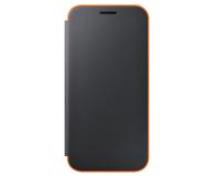 Samsung Neon Flip Cover do Galaxy A3 2017 czarny (EF-FA320PBEGWW)