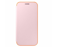 Samsung Neon Flip Cover do Galaxy A3 2017 różowy (EF-FA320PPEGWW)