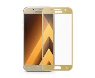 Samsung Szkło Hartowane 3D do Galaxy A3 2017 Złoty (GP-A320QCEEAAD)