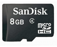 SanDisk 8GB microSDHC  (SDSDQM-008G-B35)