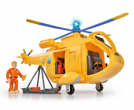 Simba Strażak Sam helikopter Wallaby 2 z figurką (4006592007713)