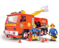 Simba Strażak Sam Wóz strażacki Jupiter z 2 figurkami II (4006592026363 )