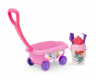 Smoby Disney Princess Wózek z akcesoriami do piasku  (3032168670044)