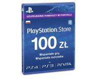 Sony Playstation Live Card PSN 100 PLN (711719893332)