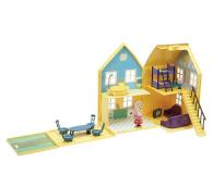 TM Toys Świnka Peppa Domek deluxe z 4 figurkami (PEP04840)